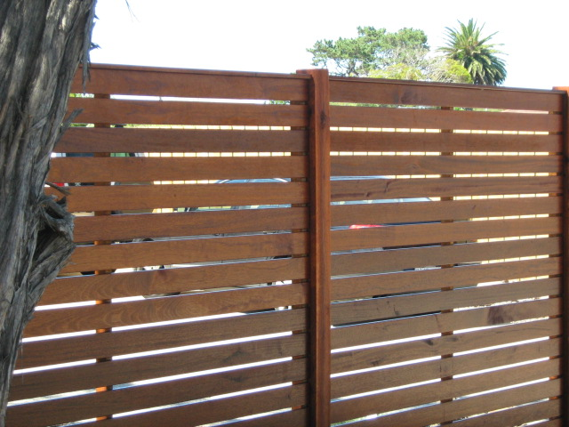 Fencing Timber Screens